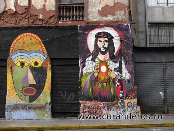 Че Гевара в образе Иисуса Христа